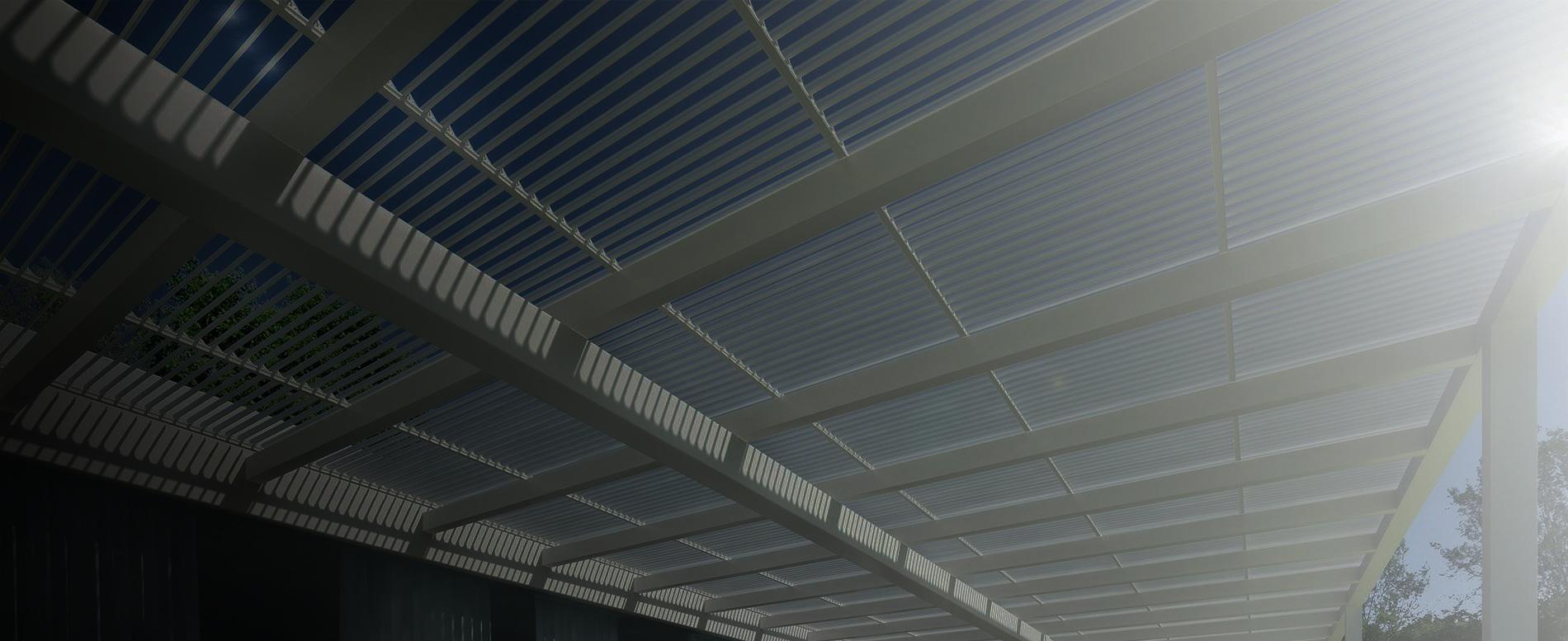 aluminium roof louvre