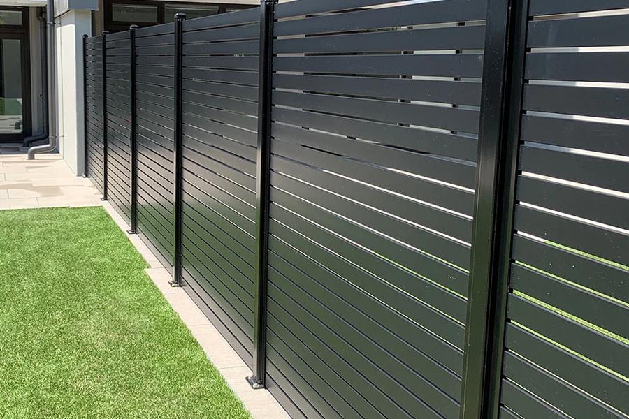 aluminium security fence