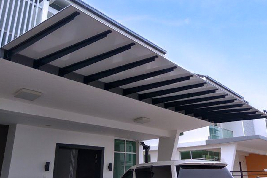 composite porch awning