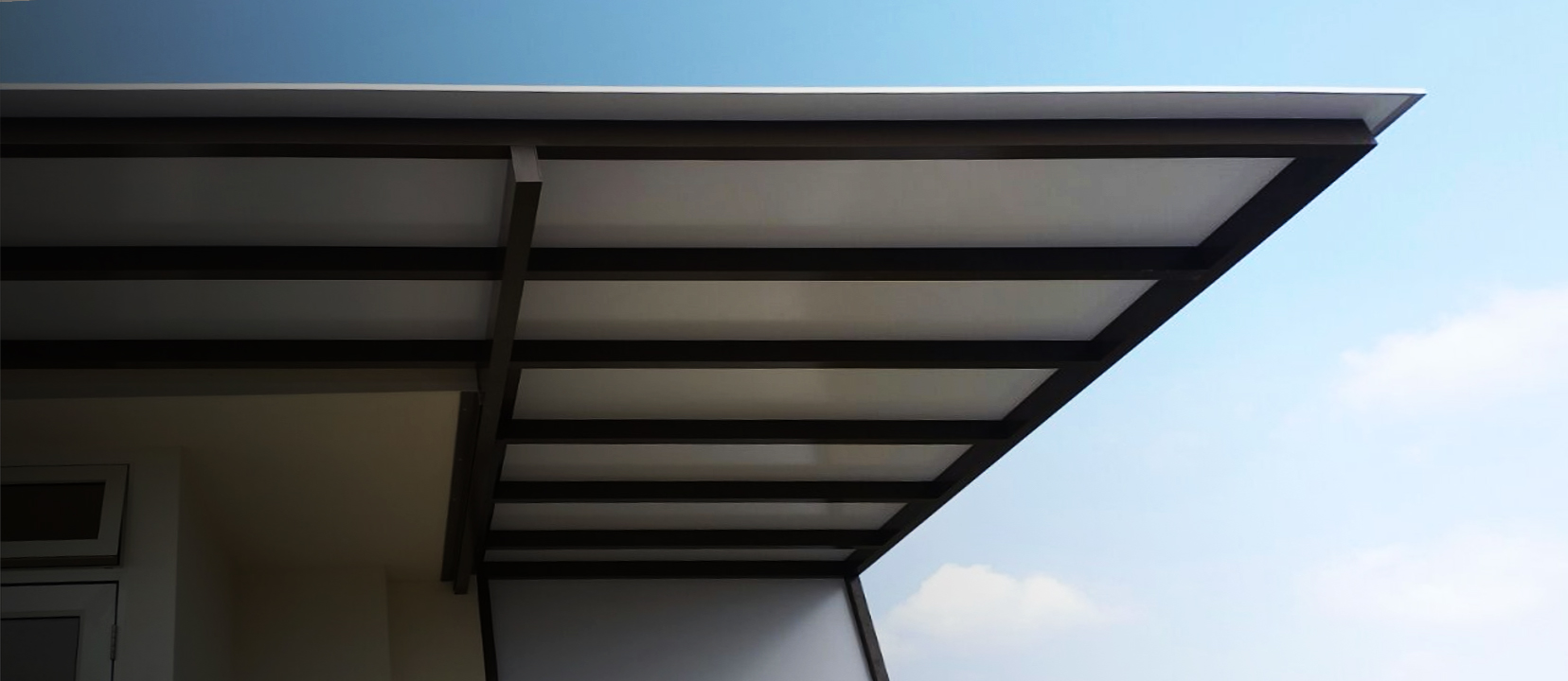 composite roof awning