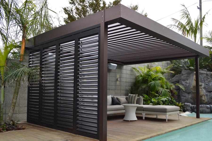 louvre enclosure patio